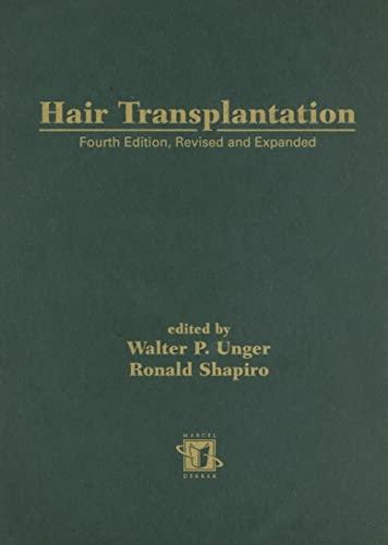 9780824741105: Hair Transplantation, Fourth Edition