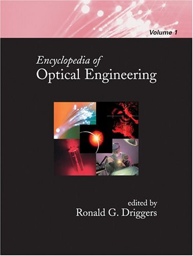 9780824742508: Encyclopedia of Optical Engineering - Volume 1 of 3 (Print) (Vol 1)