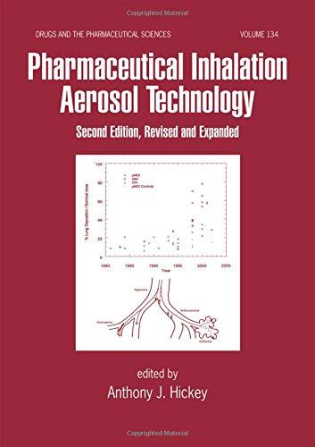 9780824742539: Pharmaceutical Inhalation Aerosol Technology, Second Edition