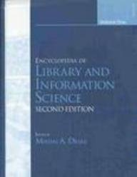 9780824742591: Encyclopedia of Library and Information Science (New Dekker encyclopedias)