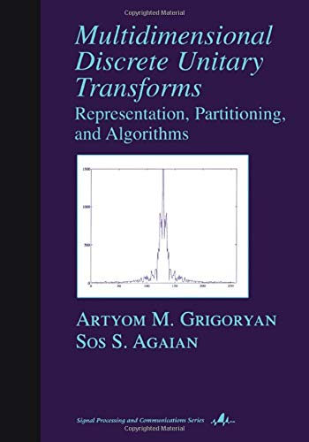 9780824745967: Multidimensional Discrete Unitary Transforms: Representation: Partitioning, and Algorithms (Signal Processing and Communications)