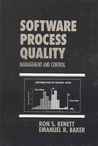 9780824746674: Software Process Quality: Management and Control
