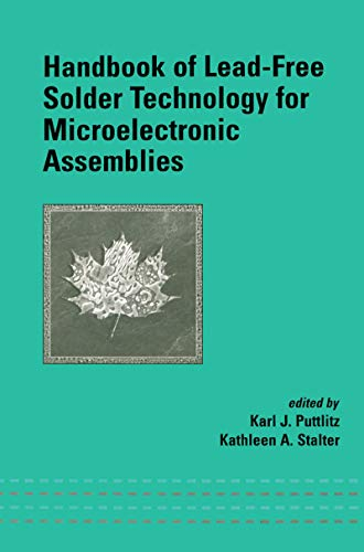 9780824748708: Handbook of Lead-Free Solder Technology for Microelectronic Assemblies (Mechanical Engineering)