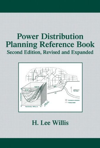Power Distribution Planning Reference Book, Second Edition (Power Engineering (Willis)): Willis, H....