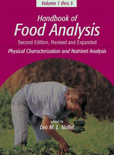 9780824750398: Handbook of Food Analysis, Second Edition -3 Volume Set (Food Science and Technology)