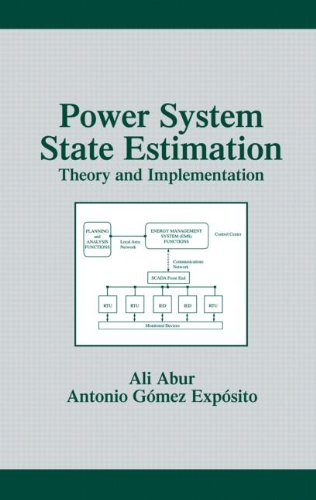 9780824755706: Power System State Estimation: Theory and Implementation (Power Engineering (Willis))