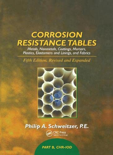 9780824756741: Corrosion Resistance Tables: Part B (Corrosion Technology)