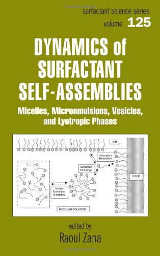 9780824758226: Dynamics of Surfactant Self-Assemblies: Micelles, Microemulsions, Vesicles and Lyotropic Phases (Surfactant Science)