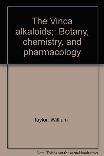 Chemistry and Pharmacology (The Alkaloids)