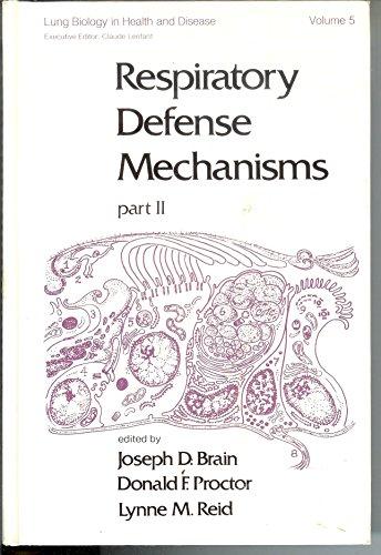 9780824765323: Respiratory Defense Mechanisms