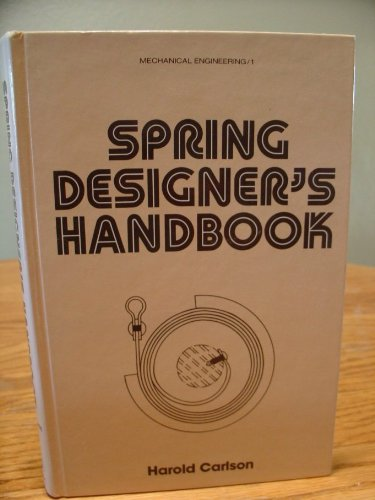 9780824766238: Spring Designer's Handbook (Mechanical Engineering)