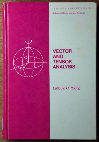 9780824766719: Vector and Tensor Analysis (Pure and Applied Mathematics)