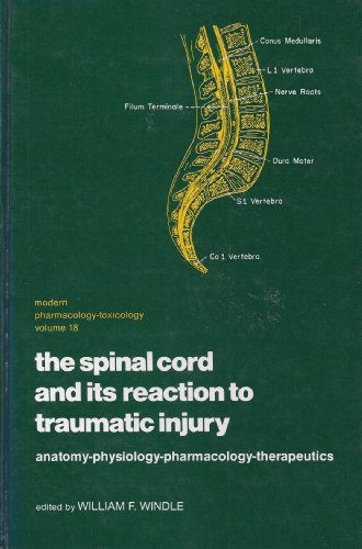 9780824766887: The Spinal cord and its reaction to traumatic injury: Anatomy, physiology, pharmacology, therapeutics (Modern pharmacology-toxicology)
