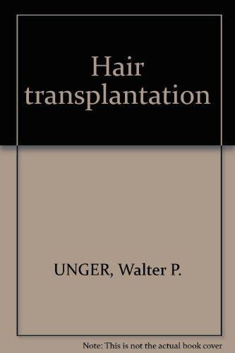 9780824767891: Hair transplantation