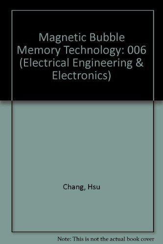 9780824767952: Magnetic-bubble Memory Technology