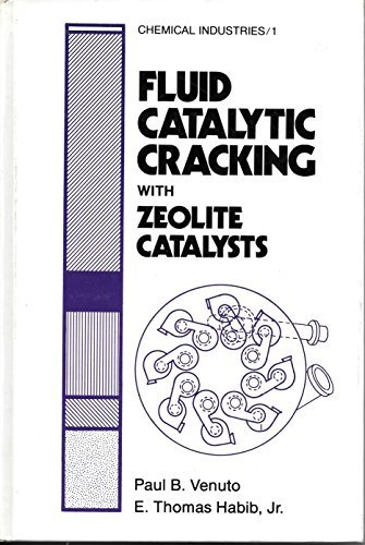 9780824768706: Fluid Catalytic Cracking with Zeolite Catalysts (Chemical Industries Vol. 1)