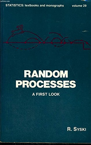 9780824768935: Random processes: A first look (Statistics, textbooks and monographs ; v. 29)