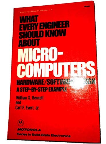 9780824769093: What Every Engineer Should Know about Microcomputers:
