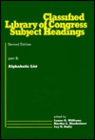 9780824769598: Classified Library of Congress Subject Headings (Books in Library and Information Science Series)
