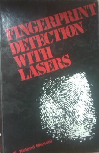 9780824769741: Fingerprint Detection With Lasers