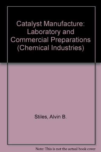 9780824770556: Catalyst Manufacture: Laboratory and Commercial Preparations (Chemical Industries)