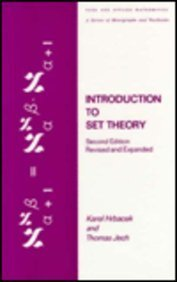9780824770747: Introduction to Set Theory: Second Edition, Revised and Expanded (Pure and Applied Mathematics)