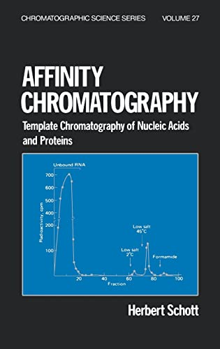 9780824771119: Affinity Chromatography: Template Chromatography of Nucleic Acids and Proteins (Chromatographic Science Series)