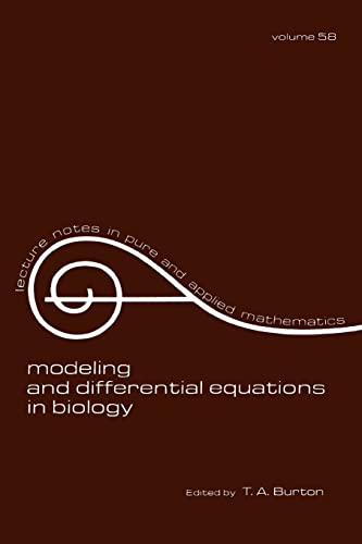Modeling and Differential Equations in Biology: Burton