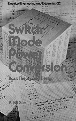 9780824772345: Switch Mode Power Conversion (Electrical and Computer Engineering, Vol. 22)