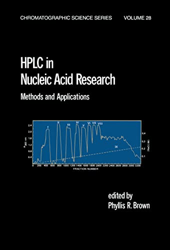 9780824772369: HPLC in Nucleic Acid Research: Methods and Applications (Chromatographic Science Series)