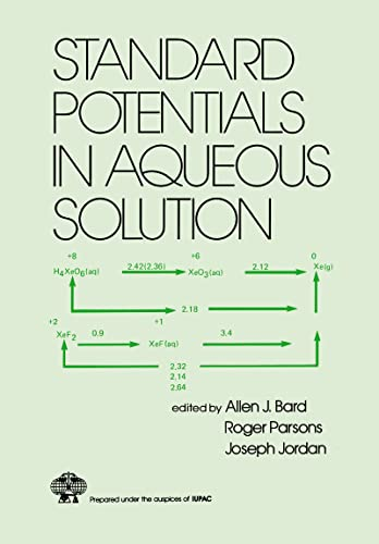 9780824772918: Standard Potentials in Aqueous Solution (Monographs in Electroanalytical Chemistry and Electrochemistr)