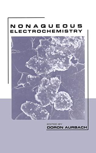 Nonaqueous Electrochemistry: Orbakh, Doron (EDT)