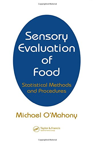 Sensory Evaluation of Food: Statistical Methods and Procedures: O'Mahony, Michael (Author)