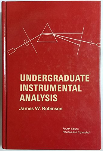9780824774066: Undergraduate Instrumental Analysis