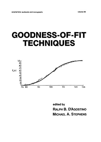 9780824774875: Goodness-of-fit-techniques (Statistics: a Series of Textbooks and Monographs, Vol. 68)