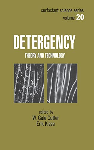 9780824775032: Detergency: Theory and Technology (Surfactant Science Series, Vol. 20)