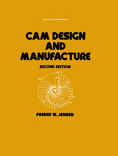 9780824775124: Cam Design and Manufacture, Second Edition (Mechanical Engineering)