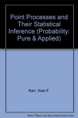 9780824775131: Point Processes and Their Statistical Inference (Probability : Pure and Applied, a Series of Textbooks and Reference Books, Vol 2)