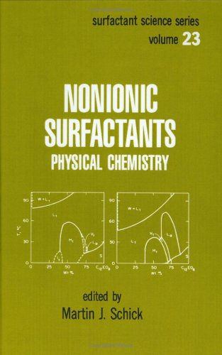 9780824775308: Nonionic Surfactants: Physical Chemistry