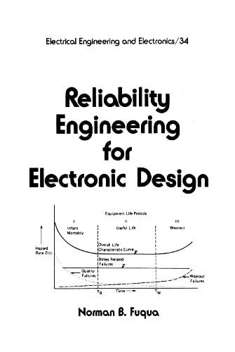 9780824775711: Reliability Engineering for Electronic Design (Electrical and Computer Engineering)