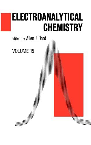 9780824776466: Electroanalytical Chemistry. Volume 15