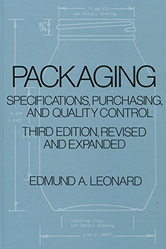9780824777296: Packaging Specifications, Purchasing, and Quality Control