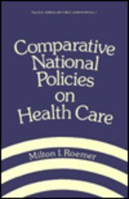 9780824777302: Comparative National Policies on Health Care