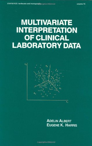 9780824777357: Multivariate Interpretation of Clinical Laboratory Data (Statistics: A Series of Textbooks and Monographs)