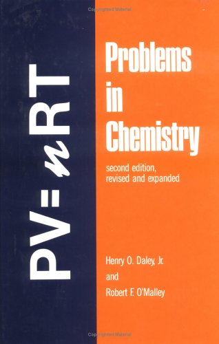 9780824778262: Problems in Chemistry, Second Edition (Undergraduate Chemistry: A Series of Textbooks)