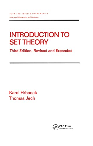 9780824779153: Introduction to Set Theory, Third Edition, Revised and Expanded