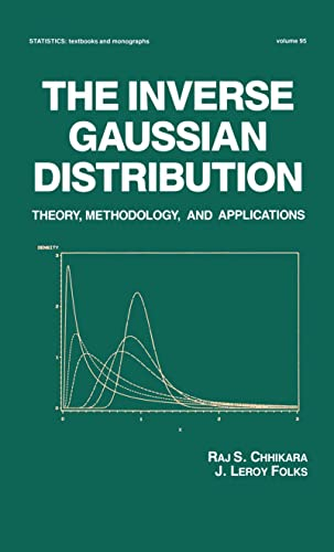 9780824779979: The Inverse Gaussian Distribution: Theory: Methodology, and Applications (Statistics: A Series of Textbooks and Monographs)