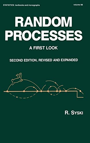 9780824780289: Random Processes: A First Look, Second Edition, (Statistics: A Series of Textbooks and Monographs)