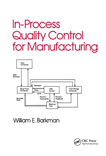 9780824780548: In-Process Quality Control for Manufacturing (Industrial Engineering: A Series of Reference Books and Textboo)