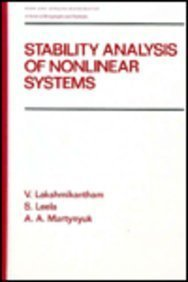 Stability Analysis of Nonlinear Systems (Chapman &: Lakshmikantham, V.